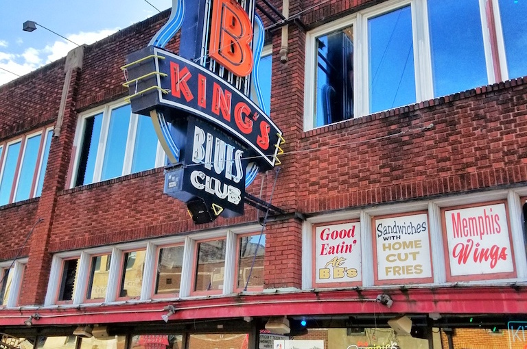 B.B. Kings Blues Club, Memphis TN