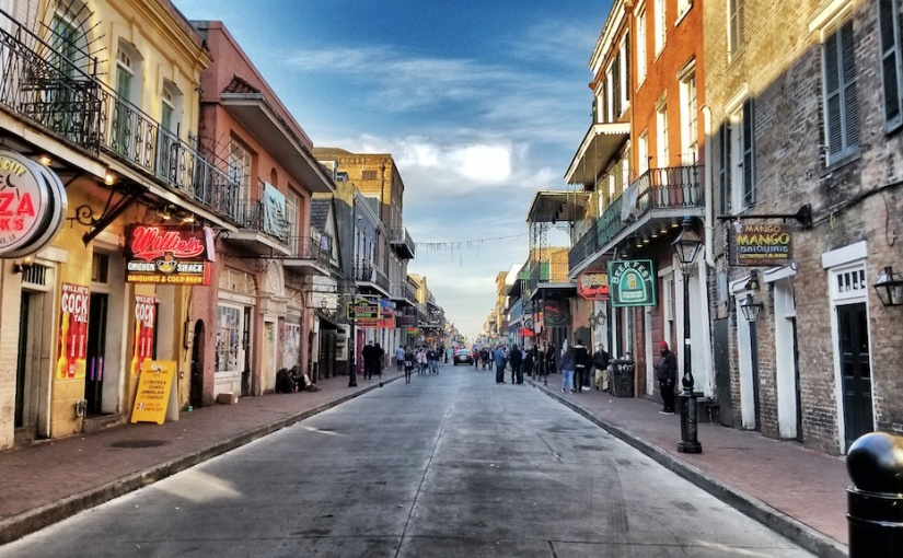 Bourbon Street, New OrleansLA