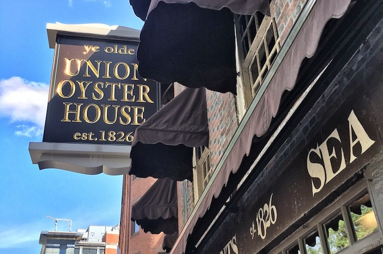 Union Oyster House, Boston MA