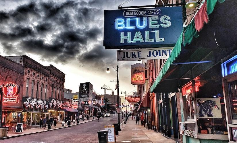 Beale Street, MemphisTN