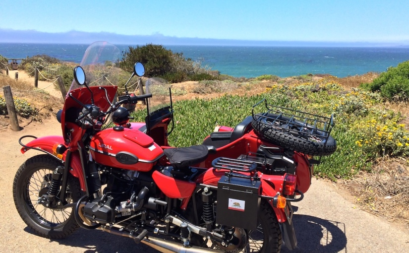 Sidecar ride up coast of California Part 5