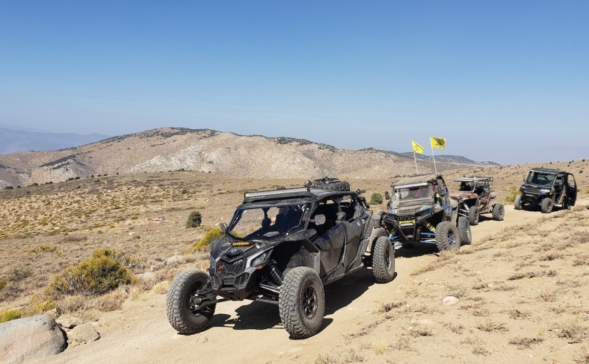 Mt Patterson Off-road Ride, Nevada/California